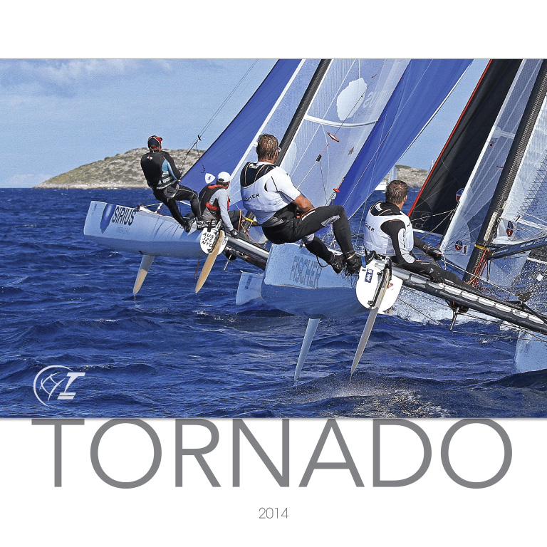 Alan and Kim – Tornado – Calendar 2014, AU