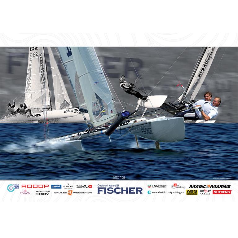 Sailing Team Fischer Calendar 2013