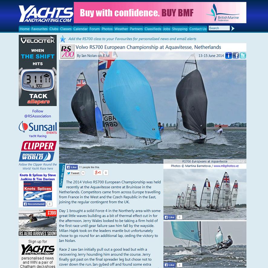 RS700 European Championship 2014, Aquavitesse NL