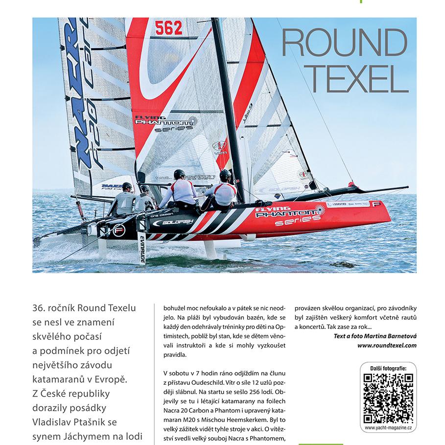 Round Texel 2014 October, Yacht Magazine CZ