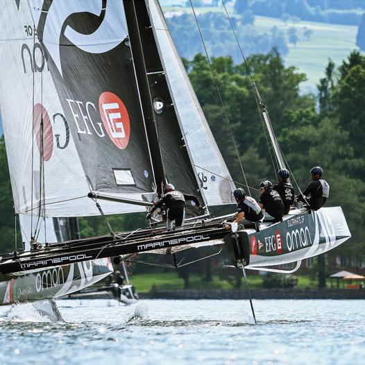 Austria Cup GC32, Yacht Magazine 7-8 2015 CZ