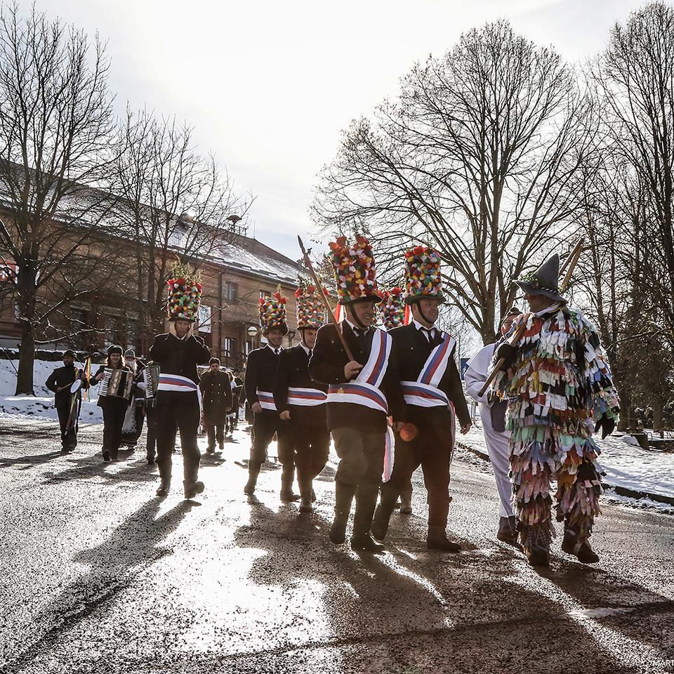 Masopust, Lipno nad Vltavou, 06.02. 2016