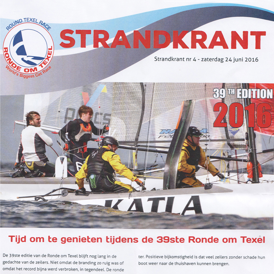 39th Round Texel 2016, Newsletter