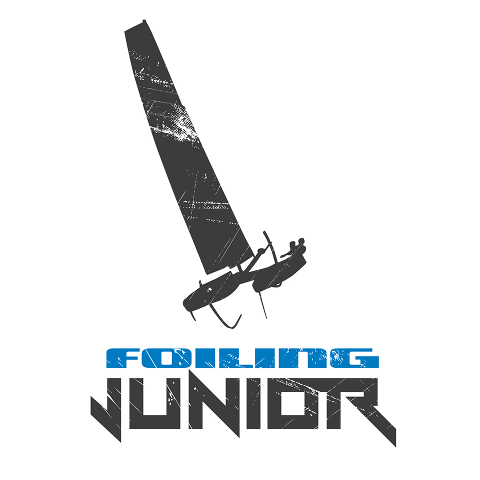 Logo Foiling Junior, graphic design Tshirt