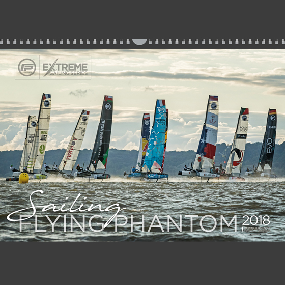 Calendar 2018 Flying Phantom Extreme Sailing Series