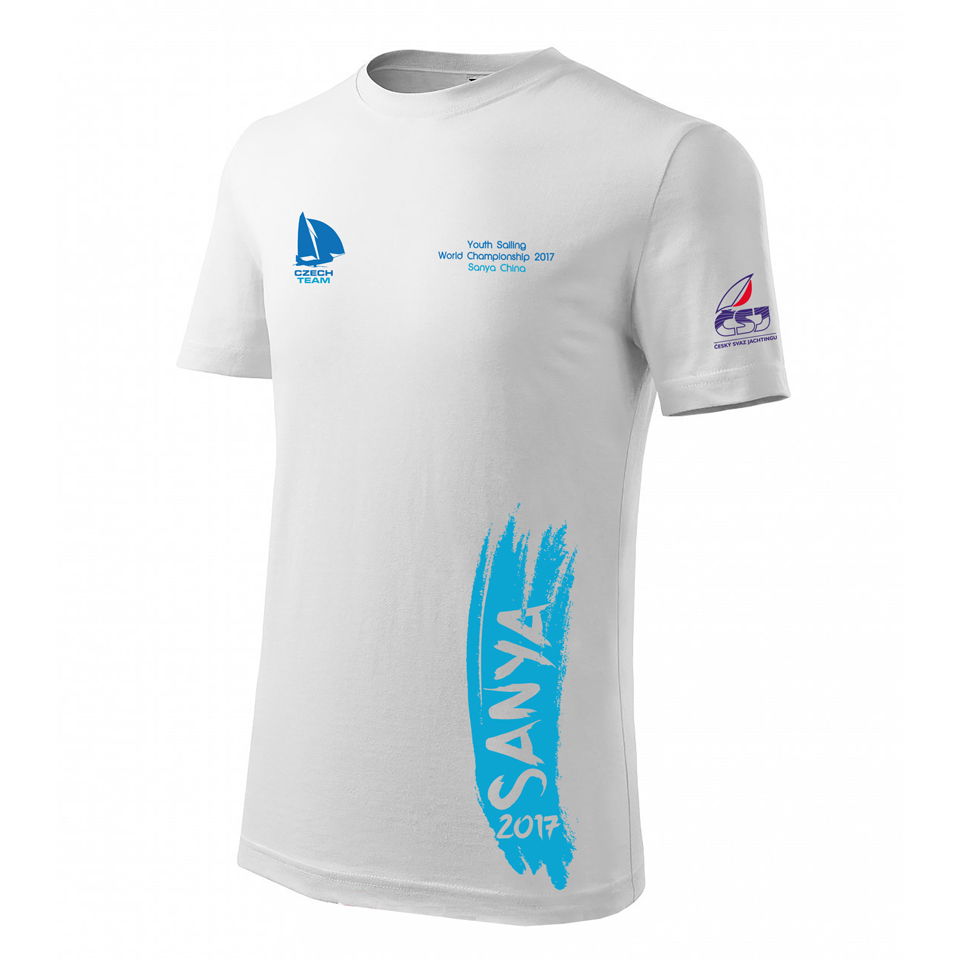 Czech 29er Team Logo, T-shirt, ISAF Youth Sailing World Championship 2017