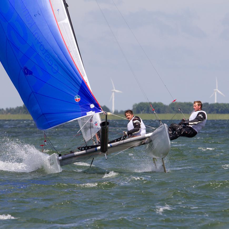 Tornado European Championship IJsselmeer 2012, NL