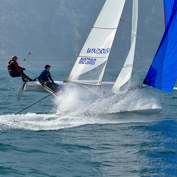 Tornado European Championship Lake Garda 2010, IT