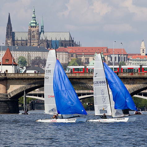 Prague Catamaran Speed Regatta 2011