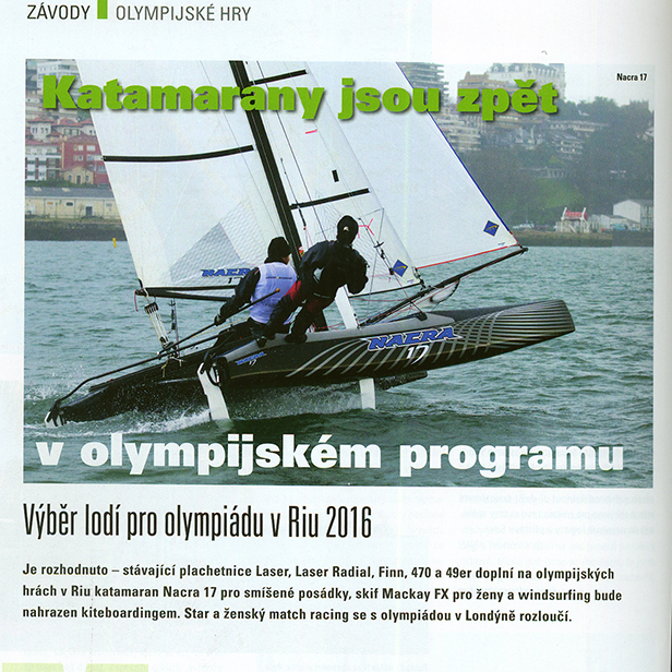 Olympic Trials at Santander, Yacht magazine 2012