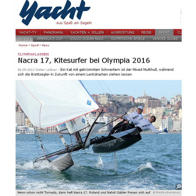 Nacra17, Yacht.de 2012