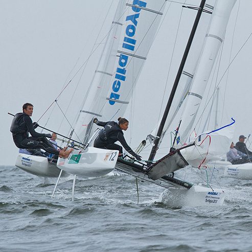 Nacra17 World Championship The Hague 2013, NL
