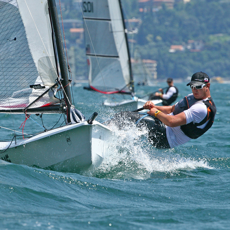 RS skiff European Championship Lake Garda 2012, IT