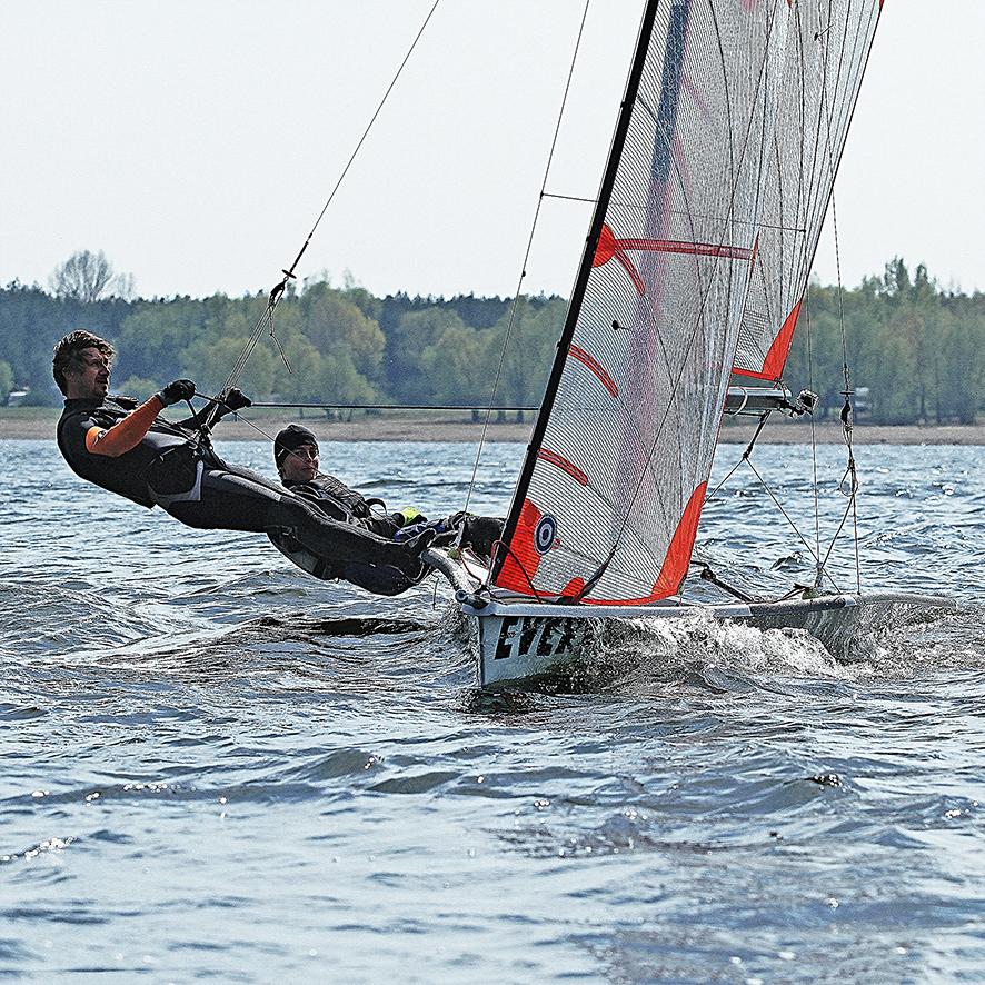 29er, Sailing Weekend Nechranice 2014, CZ