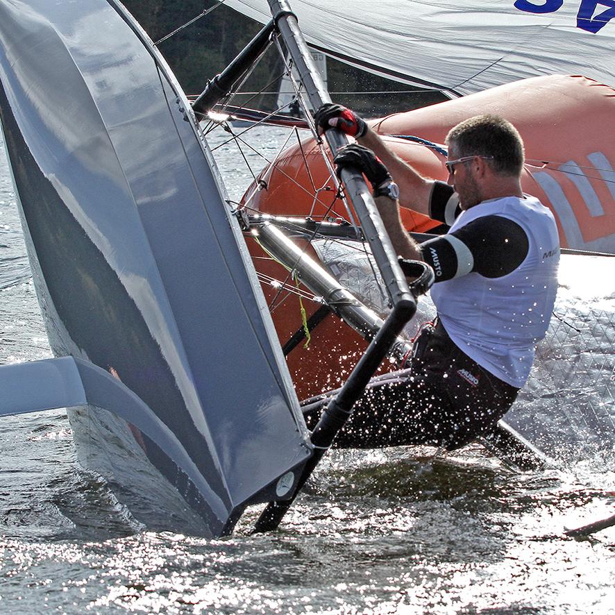 RS skiff, Lipensky kotrmelec, CZ 2014