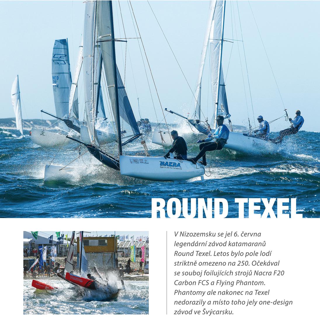 Round Texel 2015, Yacht Magazine 7-8 2015 CZ