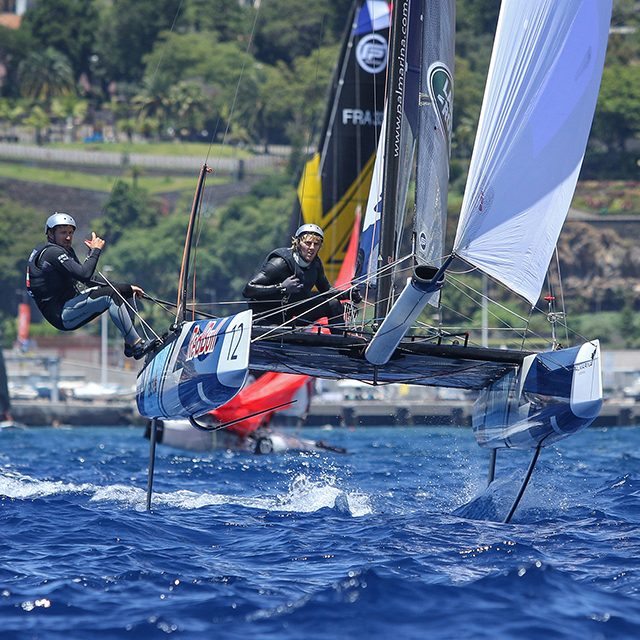 Flying Phantom, Extreme Sailing Series, Madeira 2017