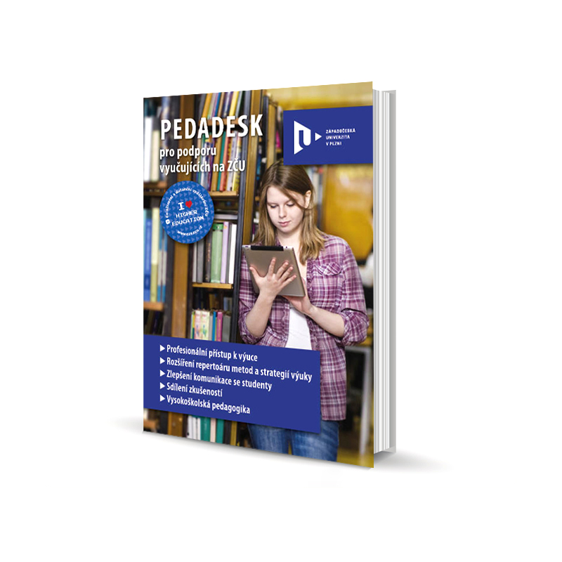 ZČU – brožura PEDADESK; Brožura pro zaměstnance